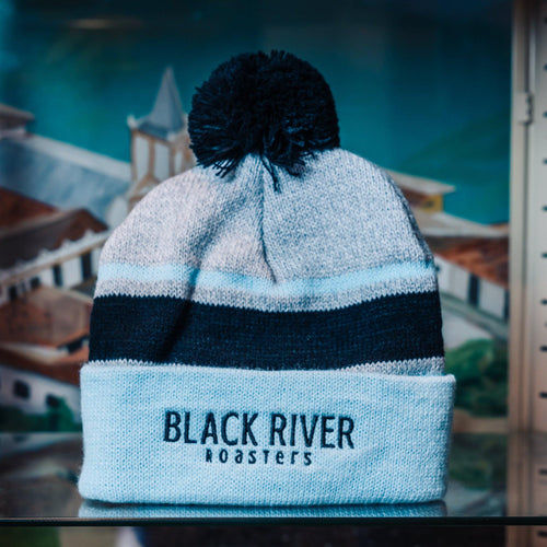 Black River Roasters Old School Cuff Beanie