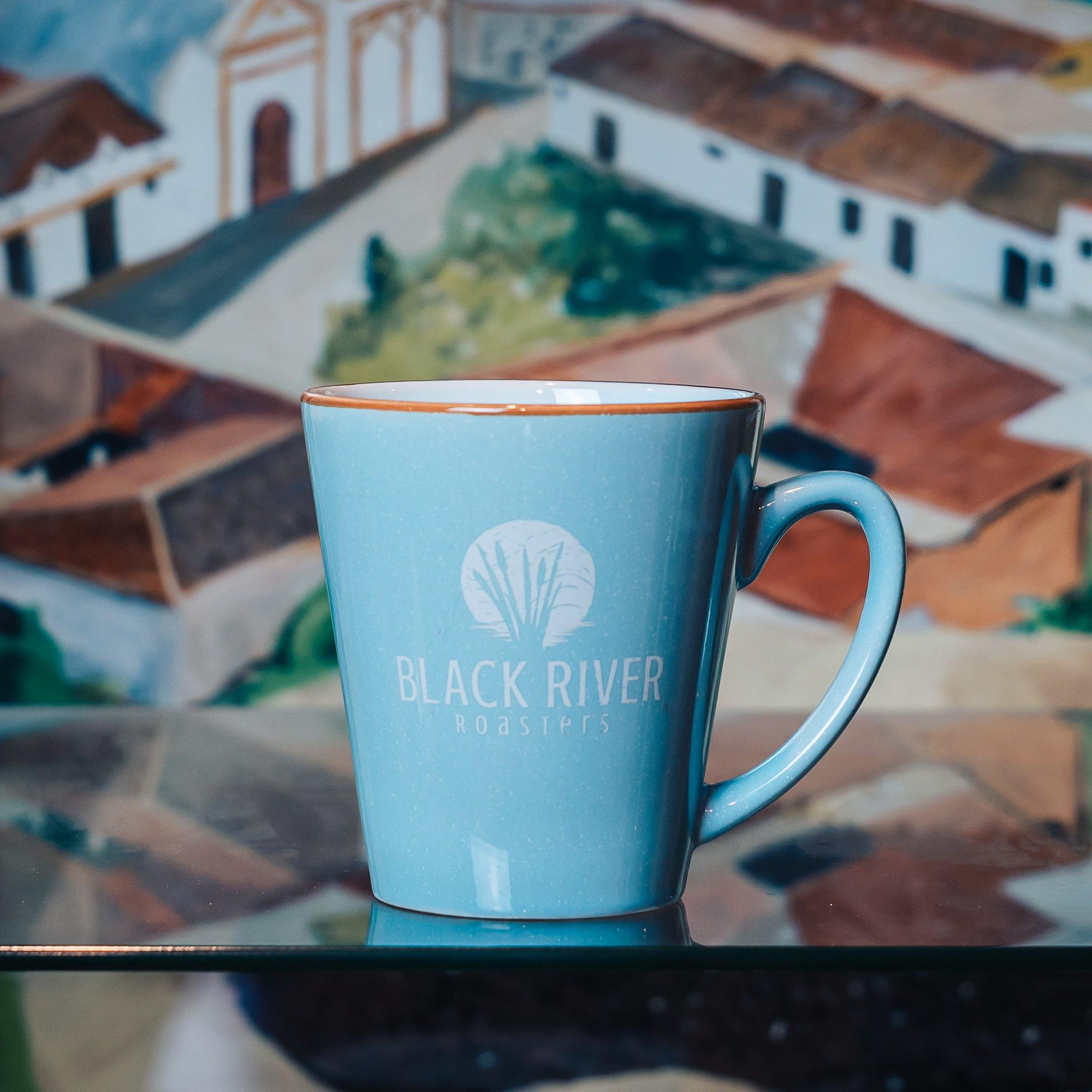 Black River Roasters 12 oz Ceramic Mug