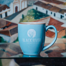 Load image into Gallery viewer, Black River Roasters 16 oz Ceramic Mug