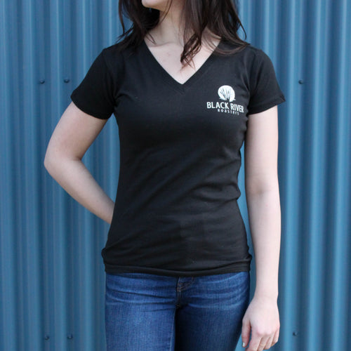 Black River Roasters Women's V-Neck