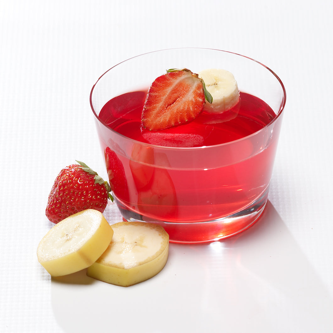 Strawberry Banana Gelatin