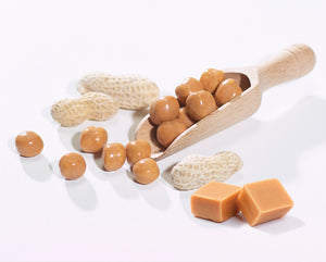 Peanut & Caramel Coated Soy Snacks