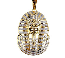 Load image into Gallery viewer, MP Pharaoh iced CZ diamond pendant