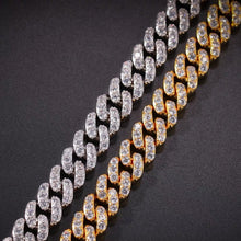 Load image into Gallery viewer, MP 1 Row iced CZ diamond 8mm necklace