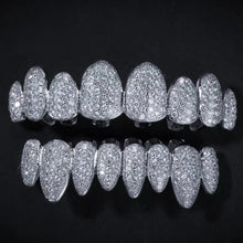 Load image into Gallery viewer, MP Fully 4 iced CZ diamond Grillz