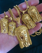 Load image into Gallery viewer, MP JESUS PIECE iced out pendant & necklace