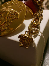 Load image into Gallery viewer, Versace medusa gold cuff bracelet
