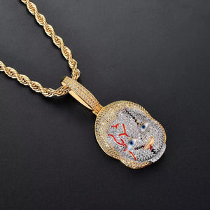 MP Chucky iced CZ diamond  pendant