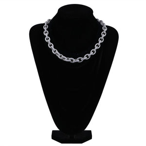 MP Cable CZ diamond 12mm necklace
