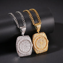 Load image into Gallery viewer, MP R watch iced CZ diamond  pendant