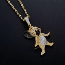 Load image into Gallery viewer, MP Jerry iced out CZ diamond pendant