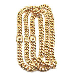 MP Classic Cuban link chain necklace