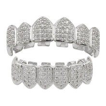 Load image into Gallery viewer, MP Fully 2 iced CZ diamond Grillz