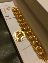 Load image into Gallery viewer, Versace 3D medusa bracelet