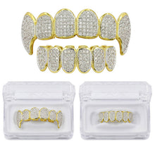 Load image into Gallery viewer, MP Fully 3 iced CZ diamond Grillz