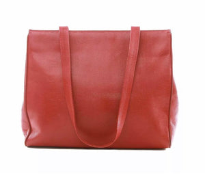 Vintage Salvatore Ferragamo red shoulder bag