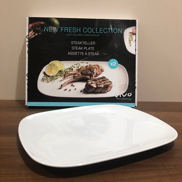 VILLEROY & BOCH Steakteller-Set New Fresh Collection  Vivo