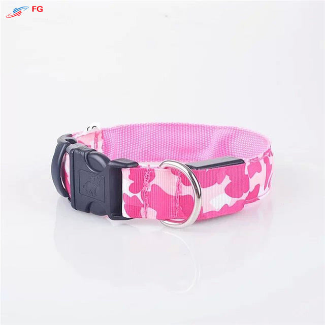 NEVER LOSE YOUR DOG AGAIN! LED collar