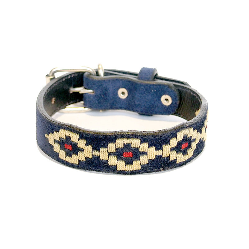 Polo Collar - Mercury - blue