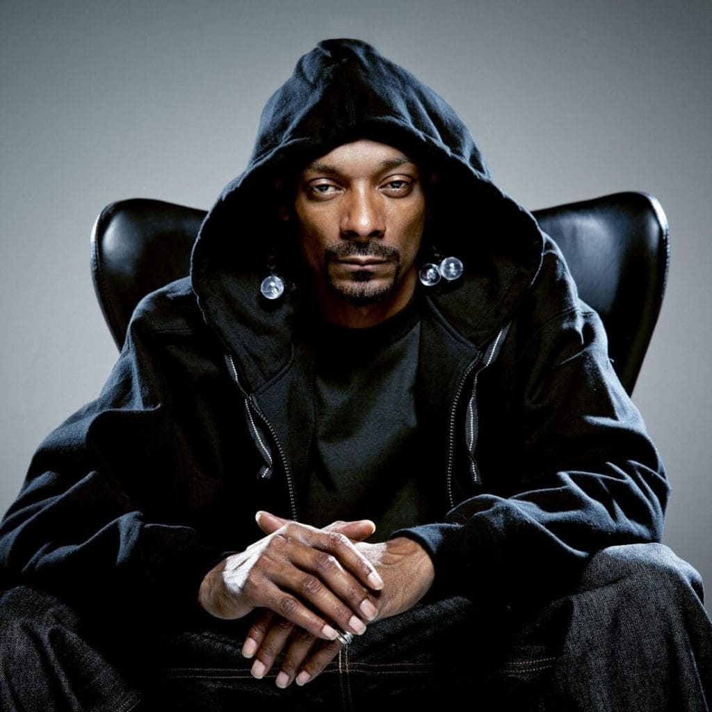 Snoop Dogg sweat veste capuche noir