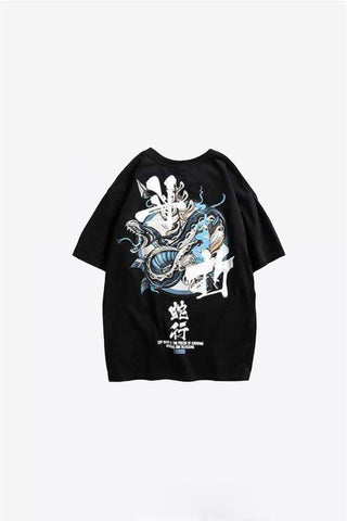 tee shirt serpent noir