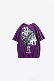 tee shirt serpent violet