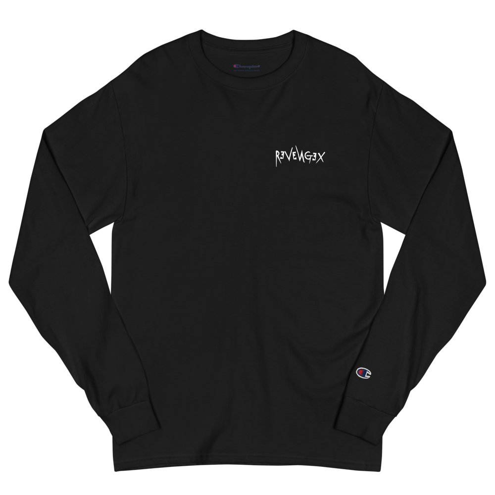 "T-shirt Long ""REVERSE"" Black"