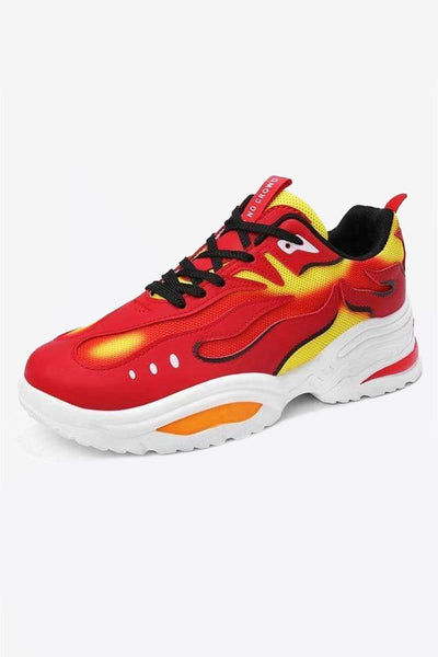 Flame Sneakers
