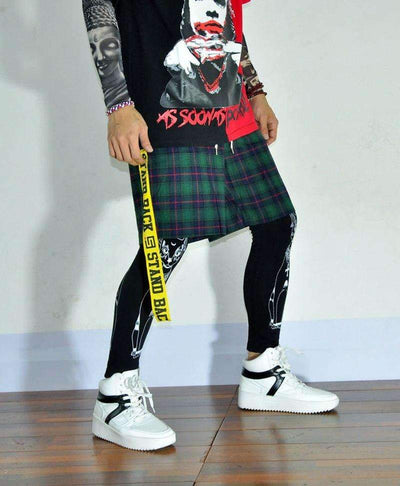 Short SCOTISH - REVENGEX | Shop Streetwear