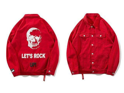 Veste Denim ROCK UP - REVENGEX | Shop Streetwear
