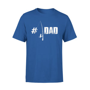 #1 Dad Fishing T-Shirt