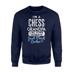 Cool Fathers Day Chess Grandpa Sweatshirt