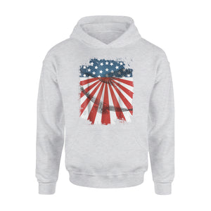 Bald Eagle 4th Of July Premium Hoodie