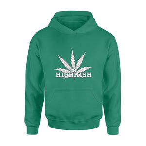 Highrish funny St Patricks Day Hoodie