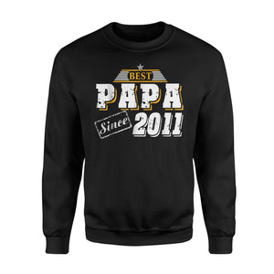 Best Papa Since , Father's Day Gift Sweatshirt