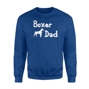 Boxer Dad Gift For Boxer Dad Sweatshirt