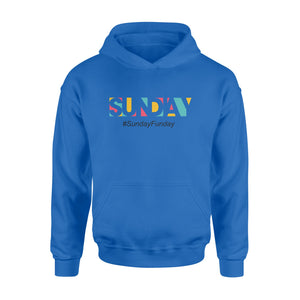 Sunday Funday Hashtag Seven-Day Of The Week Hoodie