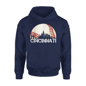 Cincinnati Downtown Baseball Cincy Hoodie