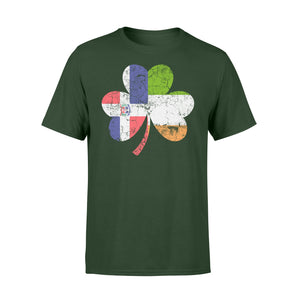 Irish Dominican Flag Ireland Shamrock St Patricks Day T-Shirt