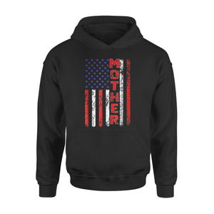 Cool Mother American Flag Premium Hoodie