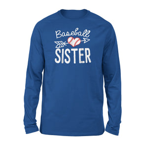 Baseball Sister Long Sleeve T-Shirt