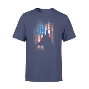 Patriotic Belgian Malinois 4th Of July American Flag T-Shirt