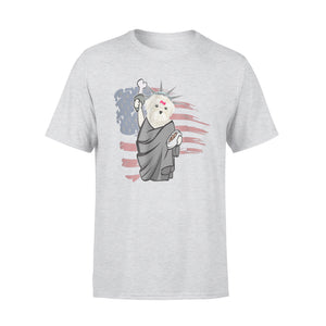 Bichon Frise Independence Day Premium T-Shirt