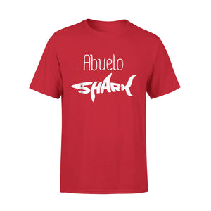 Abuelo Shark Mommy Daddy Matching Family Shark T-Shirt