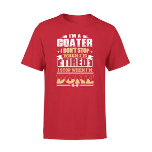 Mens Cotton Crew Neck T-Shirt - Im A Goater