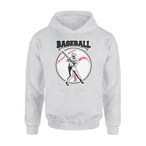 Baseball Batter Up Pose Baseball Hoodie