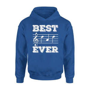 Best Dad Ever Music Note 01 Hoodie