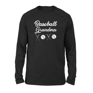 Baseball Grandma Long Sleeve T-Shirt