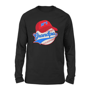 Baseball Grandpa Long Sleeve T-Shirt