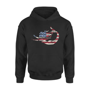 4th Of July Mermaid US American Flag Premium Hoodie